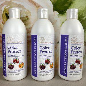 3 Natures Gate Shampoo Color Protect 18 Fl Oz